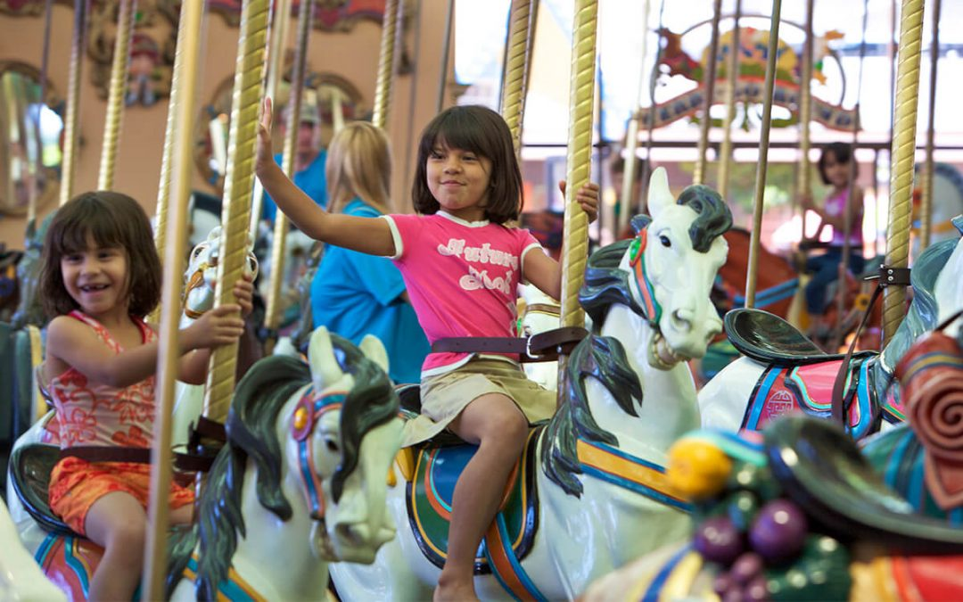 Santa Cruz Beach Boardwalk's Looff Carousel Celebrates 100 Years